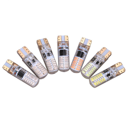 10Pcs-T10-3014-24smd-Light-Bul